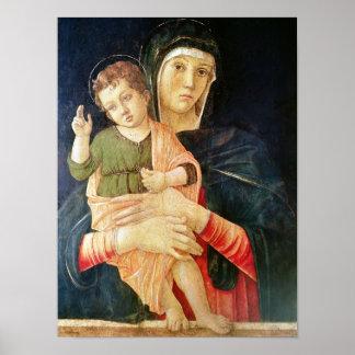 La bendición de la Virgen y del niño 1460-70 Poster