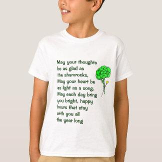 La bendición irlandesa embroma la camisa