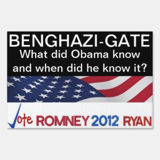 La Bengasi-Puerta qué hizo a Obama sabe la muestra