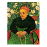 La Berceuse Augustine Roulin by Vincent van Gogh Post Card
