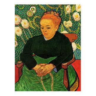 La Berceuse Augustine Roulin by Vincent van Gogh Postcard