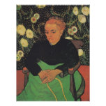 La Berceuse (Augustine Roulin) by Vincent Van Gogh Poster