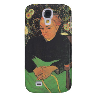 La Berceuse (Augustine Roulin) by Vincent Van Gogh Samsung Galaxy S4 Cover