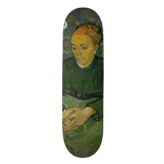 La Berceuse Augustine Roulin by Vincent Van Gogh Skateboard Decks