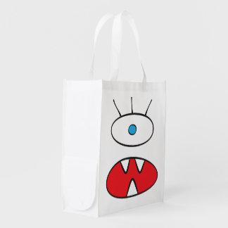 La bestia anónima - bolso reutilizable bolsa de la compra
