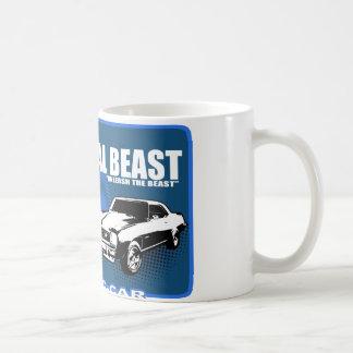 """La bestia del metal """"provoca la bestia """" taza de café"""