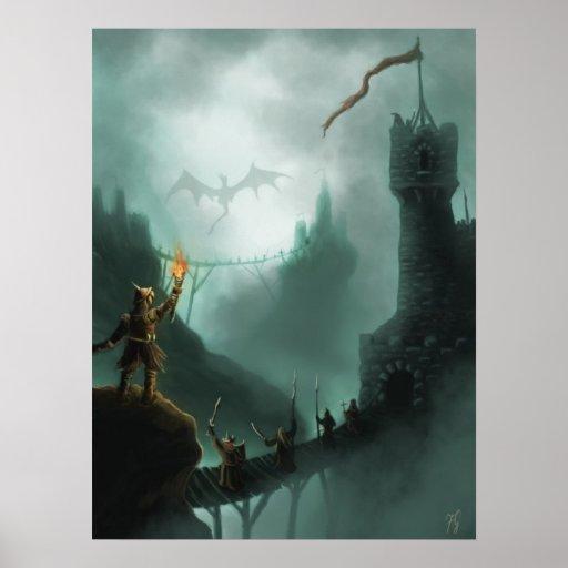 la bestia devuelve el poster de la fantasía