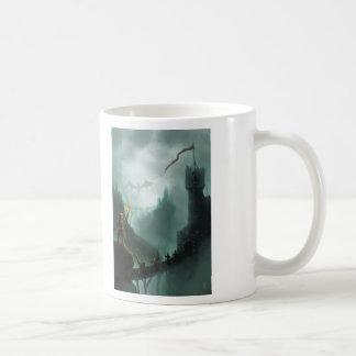 la bestia vuelve el dragón de la fantasía taza clásica