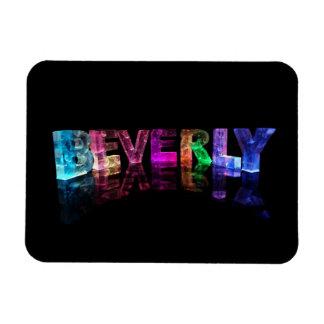 La Beverly conocida en las luces 3D Imán Flexible