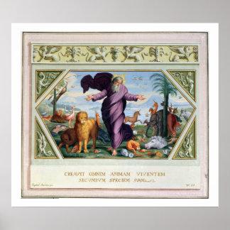La biblia de Raphael: Treinta y tres escenas del O Póster