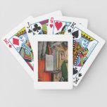 La biblia de St Jerome y la paloma de St Gregory,  Baraja Cartas De Poker