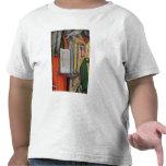 La biblia de St Jerome y la paloma de St Gregory, Camisetas