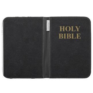 La biblia enciende la cubierta de la cubierta y de
