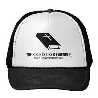 La biblia es de uso fácil gorro de camionero