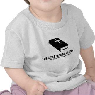 La biblia es de uso fácil camisetas