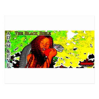 """""""La biblia negra"""": Adán y Eva Postales"""