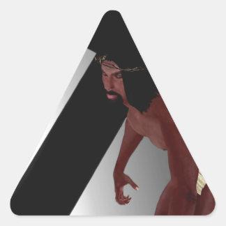 La biblia negra: Jesús Pegatina Triangular