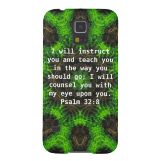 La biblia versifica 32:8 inspirado del salmo de la carcasas de galaxy s5