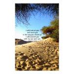 La biblia versifica 32:8 inspirado del salmo de la papelería personalizada