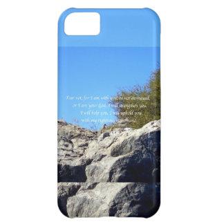 La biblia versifica el 41:10 inspirado de Isaías d Funda Para iPhone 5C