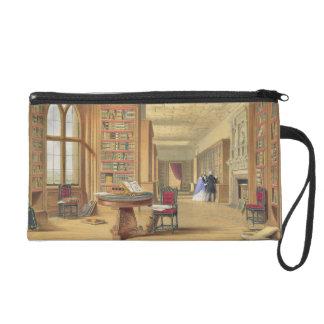 La biblioteca castillo de Windsor 1838 litho de