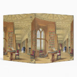 La biblioteca, castillo de Windsor, 1838 (litho de