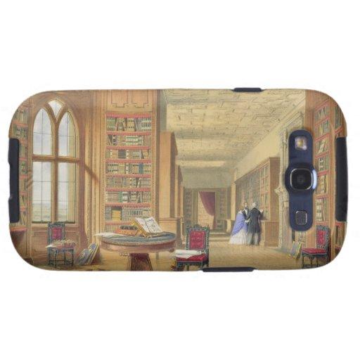 La biblioteca, castillo de Windsor, 1838 (litho de Galaxy SIII Carcasas