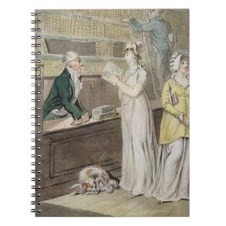 La biblioteca de circulación (pluma y tinta y w/c  note book