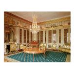 La biblioteca de Louis XVI adornada en 1781 Tarjetas Postales