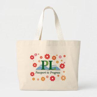 La biblioteca de Placentia florece el bolso Bolsa