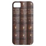 La biblioteca del vintage reserva el caso del iPhone 5 Case-Mate coberturas