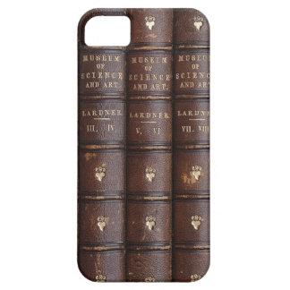 La biblioteca del vintage reserva el caso del iPhone 5 carcasas