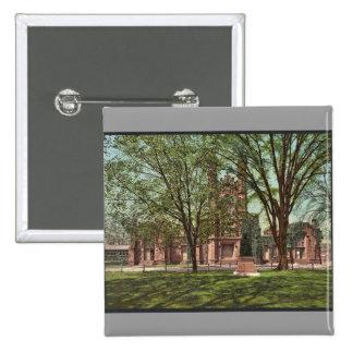 La biblioteca vieja, universidad Photochrom raro d Pin