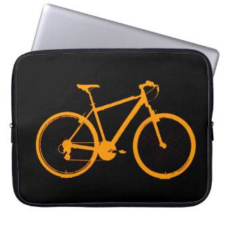 la bici anaranjada fundas ordendadores