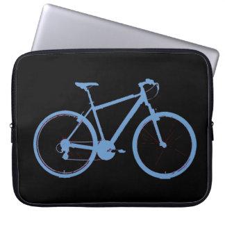 la bici azul funda computadora