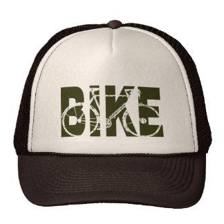 la bici. ciclo. ciclo gorros bordados