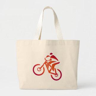 La bici indicó iguales bolsas