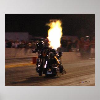 La bici más rápida de la fricción en el planeta 25 póster