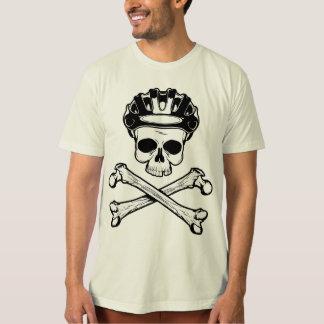 La bici o muere - bici y bandera pirata poleras