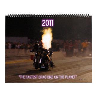 """""""La bici superior más rápida de la fricción del co Calendarios"""