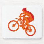 La bici tarda tiempo mousepad