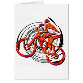 La bici tiene gusto de Hans Tarjeta De Felicitación
