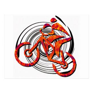 La bici tiene gusto de Hans Tarjeta Postal