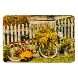 La bici - Zoar, OH - el paseo nunca está encima Iman De Vinilo
