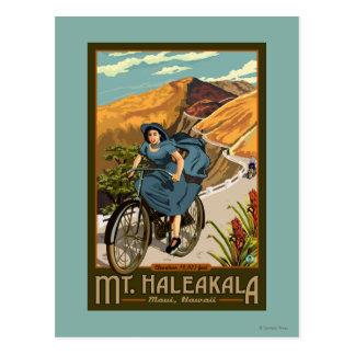 La bicicleta del Mt. Haleakala monta Hawaii Postal