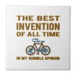 La bicicleta es el mejor teja cerámica