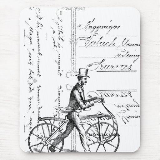 La bicicleta que camina tapete de ratón