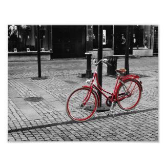 La bicicleta roja cojinete