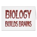 La biología construye cerebros tarjeta