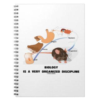 La biología es disciplina muy organizada de A Libretas